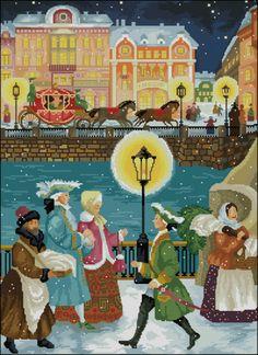 Gallery.ru / Питер зимой - мои схемы - sve16961