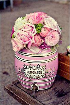 Angie and Brett - A Wedding - San Ysidro Ranch, Santa Barbara, CA Kitsch, Pink Roses, Pink Flowers, Pretty In Pink, Beautiful Flowers, Fru Fru, Everything Pink, Vintage Shabby Chic, Vintage Decor