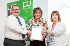 Esther Rantzen CBE commends local organisations for helping their communities to get online (Submitted by Katharinet on 1st October 2012).  On Thursday 27 September six local organisations from across the UK received awards from Esther Rantzen CBE in recognition of their successful Spring Online events held in April which helped others learn about computers and the internet.