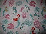 mermaidhomedecor - 4 Piece Brushed Microfiber Full Sheet Set, Mermaid $52.99