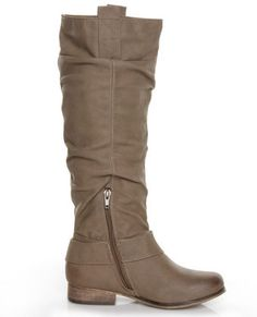 Slouchy Riding Boots $49