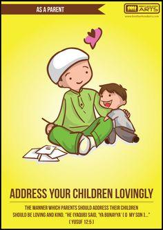 As a Parent | Address your children lovungly  Vist: http://deenify.com/products/power-t-jr