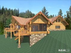 2491 sq ft - SpartaRCM CAD DESIGN DRAFTING LTD is an architectural design firm primarily specializing in log and timber construction projects.