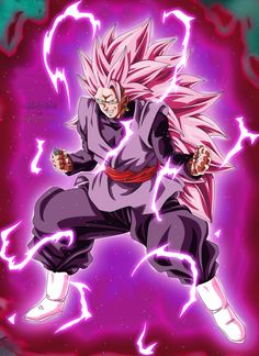Goku Black SSJ Rose 3 by Majingokuable on DeviantArt