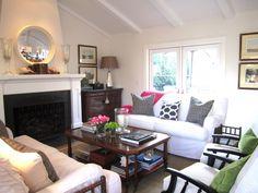 living room design by Mary Ann Pickett