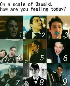 1 and 5 because it's Monday