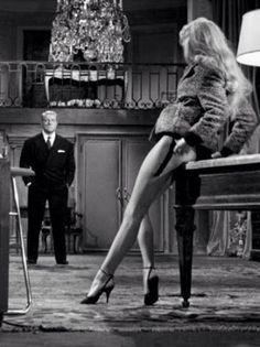 En cas de malheur. Jean Gabin et Brigitte Bardot. Film franco-italien 1958.