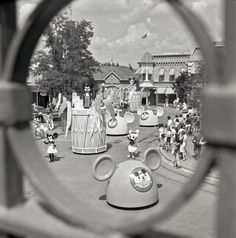 """""""Mickey Mouse Club Parade"""" 1976 as posted by Disney Parks Blog"""