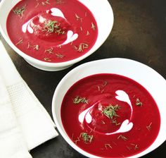 Roasted Beet Soup. Made this and it's a keeper!