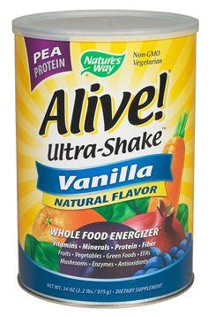 Alive! Vanilla Pea Protein Shake