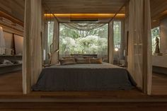 Soft, warm lights make a lot of difference to the bedroom as they create an intimate, warm and personal environment.  Have soft lights in addition to cheerful bright ones, so that you can switch on the lighting of choice depending on your mood. Bedroom by Denise Barretto Arquitetura