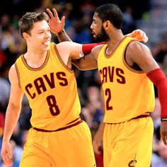 Cavaliers, hoping to expand footprint, sign on 2 international firms Cleveland Cavaliers Matthew Dellavedova, Sports Marketing, Global Brands, Sports Pictures, Cavalier, Footprint, Victorious, Finals, Nba