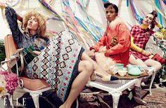 Yellsvan design :: Liisa Winkler. Stella, Hannah, Juliann, Sam And Judith By Owen Bruce For ELLE Canada September 2015