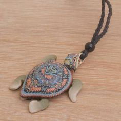 Shop unique, award-winning Artisan treasures by NOVICA, the Impact Marketplace. Polymer Clay Sculptures, Polymer Clay Animals, Polymer Clay Miniatures, Polymer Clay Crafts, Sculpture Clay, Handmade Polymer Clay, Polymer Clay Turtle, Polymer Clay Pendant, Polymer Clay Earrings