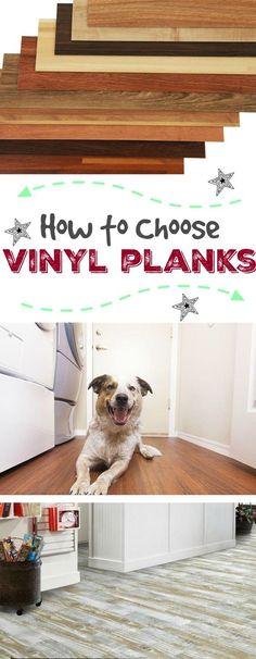 What's the Deal with Vinyl Planks Part 3 {decisions, decisions}: In our 3rd edition of our series on vinyl plank flooring, we are teaching you the best way to make decisions to fit your budget, desired look and necessary durability. A must read for anyone considering purchasing vinyl floors for their home or business!