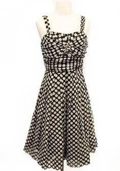Lafayette 148 Size 6 Black Sleeveless Dress