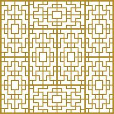 Chinese angular pattern