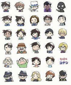 detective conan cuteness