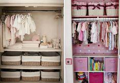 Ideias funcionais e inteligentes para organizar o quarto do bebê!