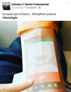 Smarphone pulseras #tecnologia  https://youtu.be/0dh74uRU7C0