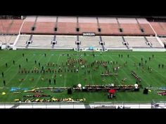 6.23.12 Crossmen Drum & Bugle Corps Citrus Bowl Run Through