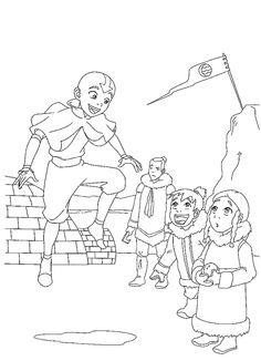 Avatar Tegninger til Farvelægning. Printbare Farvelægning for børn. Tegninger til udskriv og farve nº 25