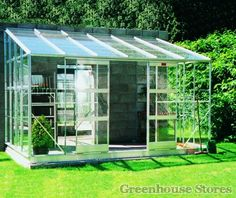 Elite An K800 8x20 Lean To Greenhouse Toughened