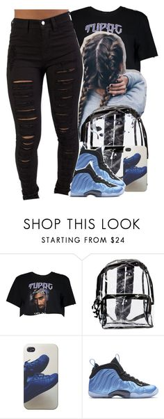 """""""Tupac 👽🙌🏽"""" by jchristina ❤ liked on Polyvore featuring interior, interiors, interior design, home, home decor, interior decorating, Boohoo and NIKE"""