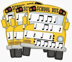 School Bus Rhythms: Games and Assessment - Floating Down the River Music Games, Rhythm Games, Music Activities, Piano Lessons, Music Lessons, 2nd Grade Music, Music Lesson Plans, Music Worksheets, Reading Music
