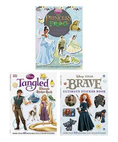 Look what I found on #zulily! Disney Princess Ultimate Sticker Book Paperback Set by Penguin #zulilyfinds