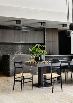 Cassina | Superleggera Chairs   Toorak Residence by Workroom, photography by Derek Swalwell.
