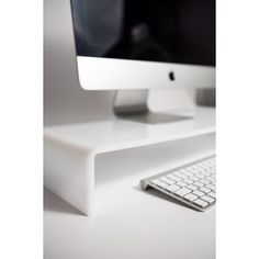 Acrylic riser stand TV/Monitor 50x30 h:10  # plexiglass #acrylic #home #imac #apple #pc