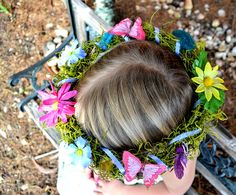 Woodland Fairy Crown Easy Spring Craft