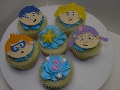 Image detail for -Bubble Guppies Cupcakes - Limited Edition Cakes