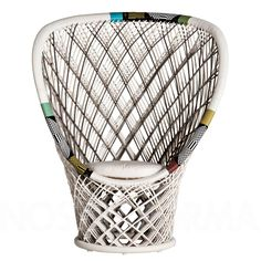 Driade Pavo Real Outdoor armchair » modern and contemporary lighting fixtures, chandeliers & furniture » NOSTRAFORMA.