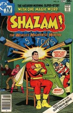 I'm not certain what made me decide to pick up this issue of SHAZAM, though I'd imagine that it has something to do with the return of another Golden Age hero, Fawcett's Minute Man, in the story. Original Captain Marvel, Captain Marvel Shazam, Marvel 3, Marvel Comics, Comic 8, Dc Comic Books, Vintage Comic Books, Vintage Comics, Suspended Animation