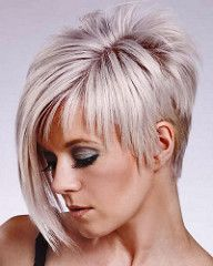 You may see here the wonderful ideas of undercut short pixie haircuts for women and girls to show off right now. This is one of the best styles among all the short pixie haircuts in year the Rest] Short Straight Haircut, Edgy Short Haircuts, Long Pixie Hairstyles, Straight Hairstyles, Cool Hairstyles, Asymmetrical Haircuts, Short Hair Cuts For Women Edgy, Short Hair Back View, Asymetrical Short Hair