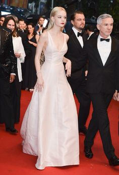 Carey Mulligan in Christian Dior at the premiere of THE GREAT GATSBY at the Cannes Film Festival 2013)