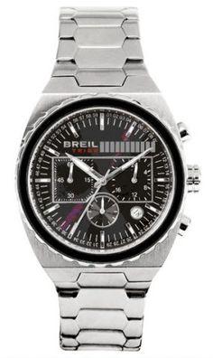 Breil Tribe Men's Stainless Steel Black Dial TW0555
