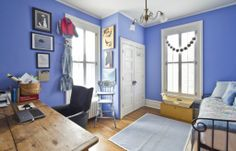 Blue bedroom inspiration from a Seattle home!