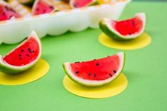 Watermelon Jello Shots - Fun watermelon drinks for parties or meetings with friends.