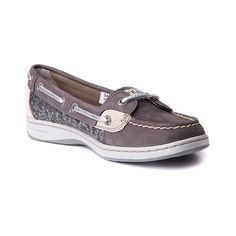 Womens Sperry Top-Sider Angelfish Boat Shoe, Gray | Journeys Shoes