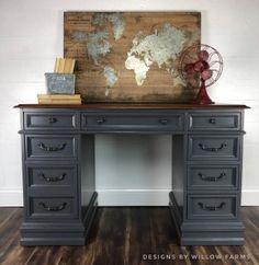 Grey Furniture, Retro Furniture, Refurbished Furniture, Repurposed Furniture, Furniture Projects, Gray Painted Furniture, Furniture Movers, Furniture Online, Discount Furniture