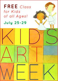 online art classes for kids - a couple of them are free