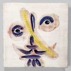 A ceramic plaque by Pablo Picasso at Masterworks Fine Art