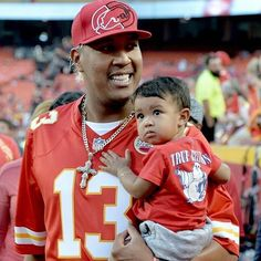 Salvy at the chiefs game , Oct 2017 Chiefs Game, Chiefs Football, Usa Today, Royals Baseball, Blue October, Win Or Lose, Love My Boys, Kansas City Royals, Father And Son
