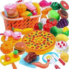 Kids Play Food, Play Food Set, Pretend Food, Pretend Play, Baby Doll Nursery, Baby Girl Toys, Toys For Girls, Kids Toys, Festa Hot Wheels