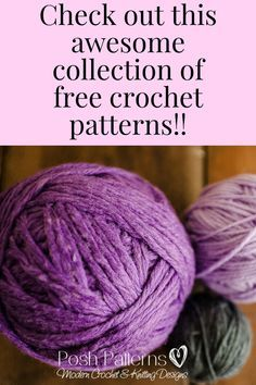 Take a look at my Free Crochet Pattern page for a great collection of fun crochet projects! Includes crochet patterns for babies, kids, and adults.
