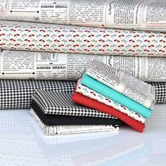 'Feed Company' by Moda - FQ Bundle Cottons, 7 Fabrics | plushaddict