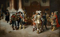 Carl George Boppo, THE ANNOUNCEMENT OF WALLENSTEIN´S DEATH